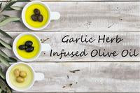 Garlic Herb Infused Olive Oil