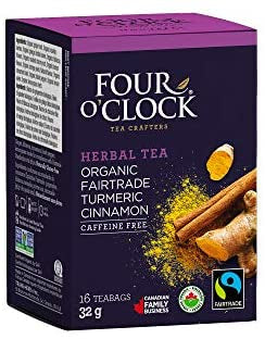 Turmeric Cinnamon Tea, Fairtrade