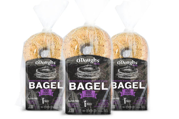 O'Doughs Gluten Free Sprouted Flax Bagel Thins