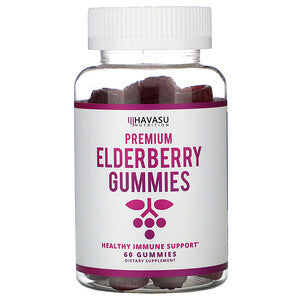 Elderberry Gummies, 60ct