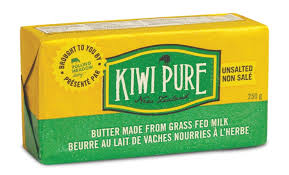Kiwi Pure Unsalted Butter 250g
