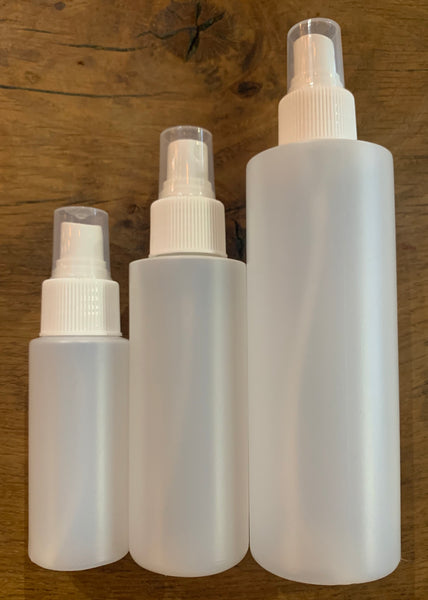 Natural Cylinder Spray Bottles