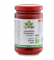 BioItalia Organic Tomato Paste, in glass
