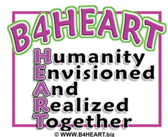 B4HEART p Humanity Envisioned And Realized Together. https://www.B4HEART.biz