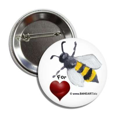 Bee4HEART Badge www.B4HEART.biz
