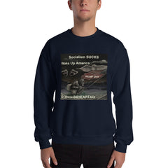 Sweatshirt Socialism SUCKS