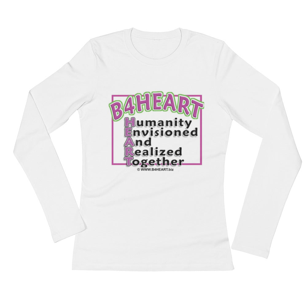 Ladies' Long Sleeve T-Shirt B4HEART