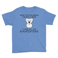Youth Short Sleeve T-Shirt I'm Not a BEAR?