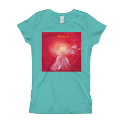 Girl's BELIEVE Angel T-Shirt