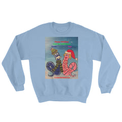 Sweatshirt Happy Holidays Oouey and Olga