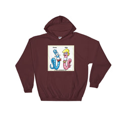 Hooded Sweatshirt The LOVE Worms