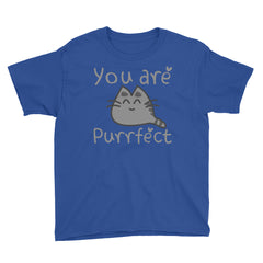 Youth Short Sleeve You are PURRfect  T-Shirt