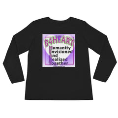 Ladies' Long Sleeve B4HEART Heart T-Shirt