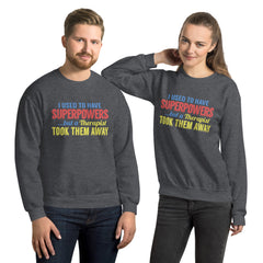 Unisex Sweatshirt --- 'Attitude Adjustment'