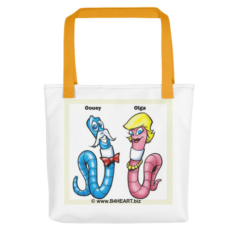 Tote bag The LOVE Worms