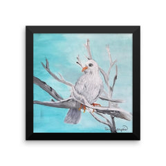 Framed Dove In Tree poster