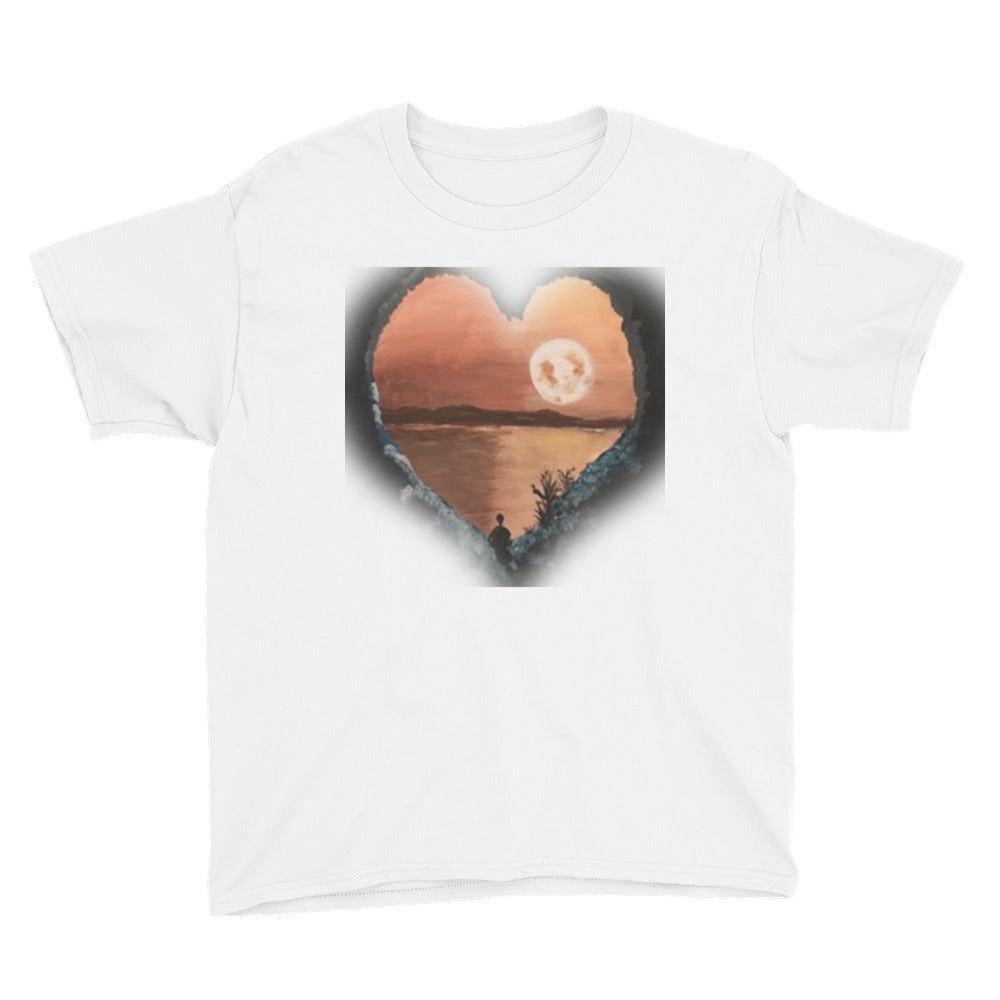 Youth Short Sleeve HEART Cave T-Shirt