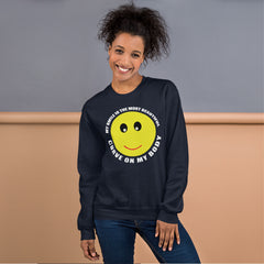 Sweatshirt--- My SMILE Curve