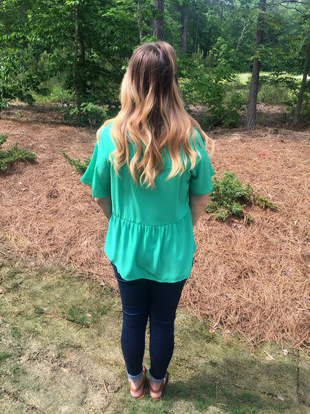 Green With Envy Blouse