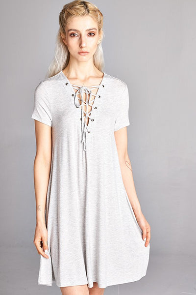 Lace It Up Dress