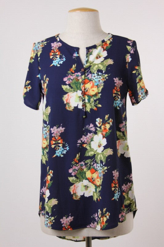 Bright Blooms Blouse
