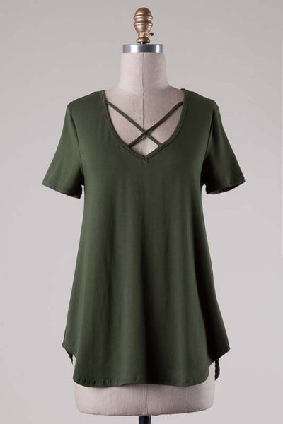 Living For The Weekend Top-Olive