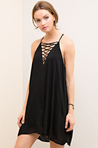 Salty Breeze Dress-Black