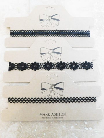 Classic Choker Necklace- 3 Styles