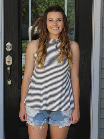 Lindsey Striped Tank Top