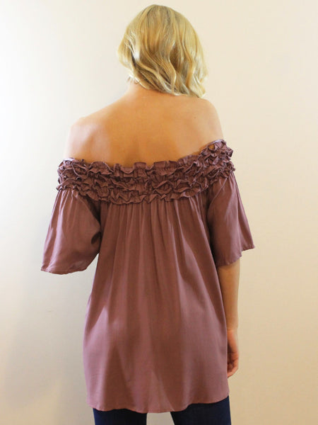 All About Mauve OTS Top