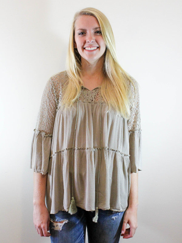 Be Free Top-Olive