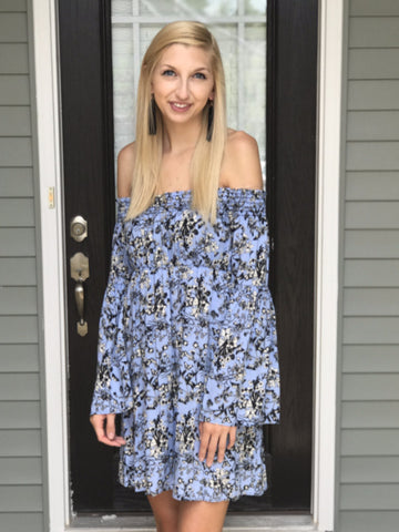Periwinkle OTS Dress