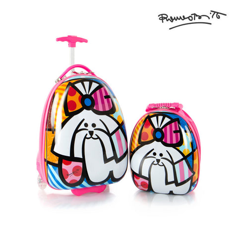 Britto for Kids - Luggage and Backpack Set - Dog