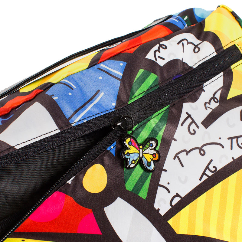 Britto Butterfly Packing Cubes 5pc Set