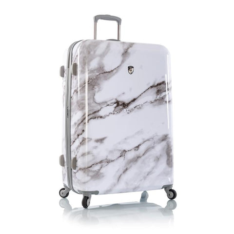 "Carrara - White Marble 30"" Fashion Spinner®"