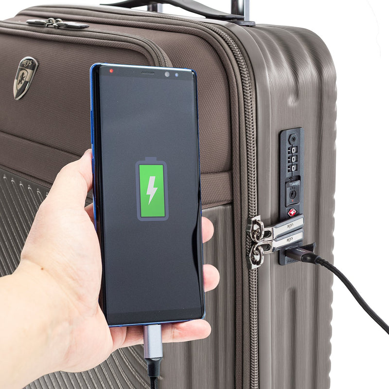 "Charge-A-Weigh 2.0 - 21"" Carry-on"