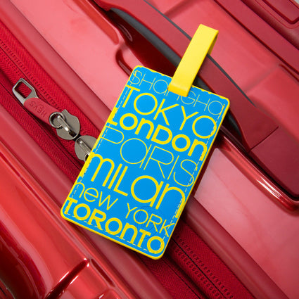 Cities Luggage Tag