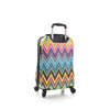 "Colour Herringbone 21"" Carry on"