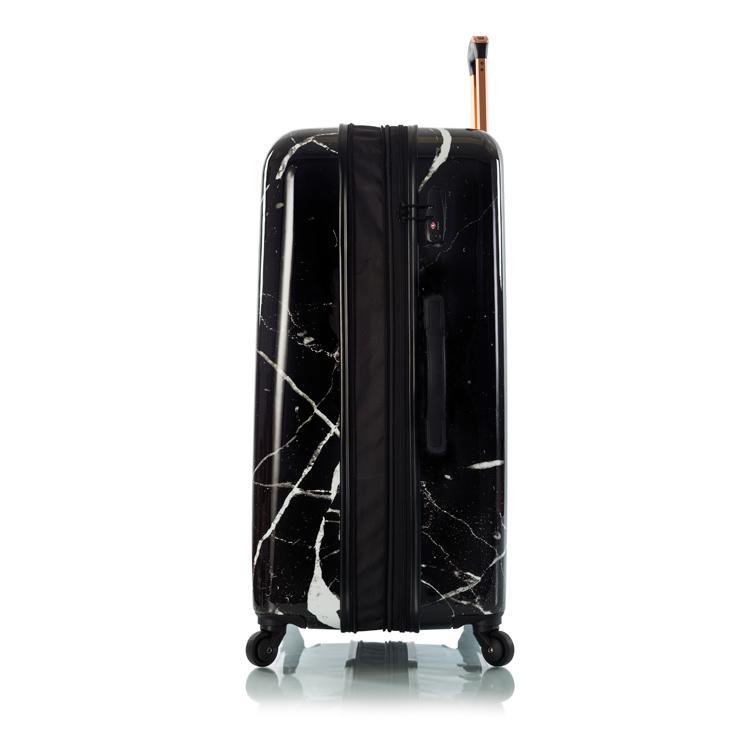 "Dakara - Black Marble 30"" Fashion Spinner®"