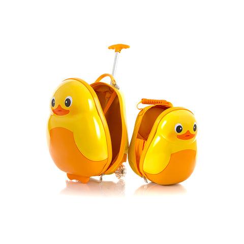 Travel Tots Duck - Kids Luggage & Backpack Set