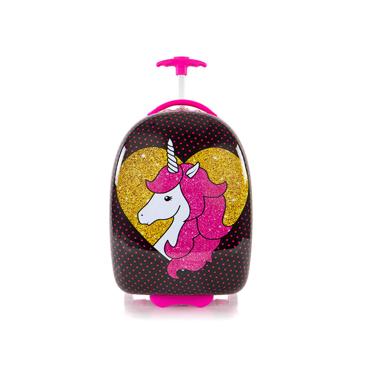 Kids Luggage - Unicorn - (HSRL-RS-UN16-19AR)