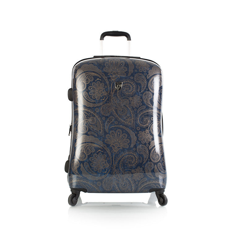 "Indigo Paisley 26"" Fashion Spinner"