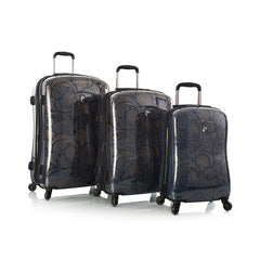 Indigo Paisley Fashion Spinner 3pc. Set