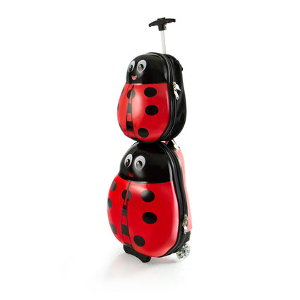 Travel Tots Lady Bug - Kids Luggage & Backpack Set