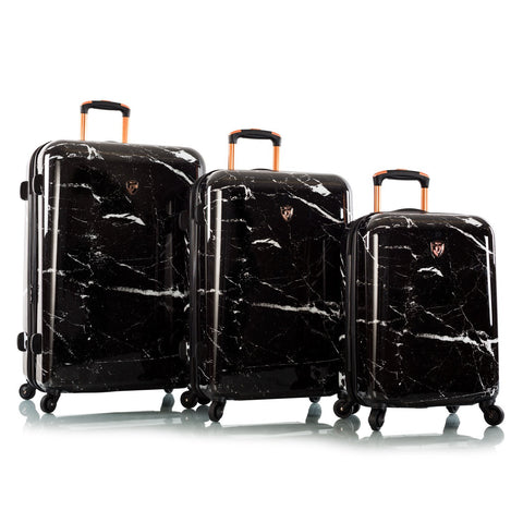 Marquina - Black Marble Fashion Spinner® 3pc. Set