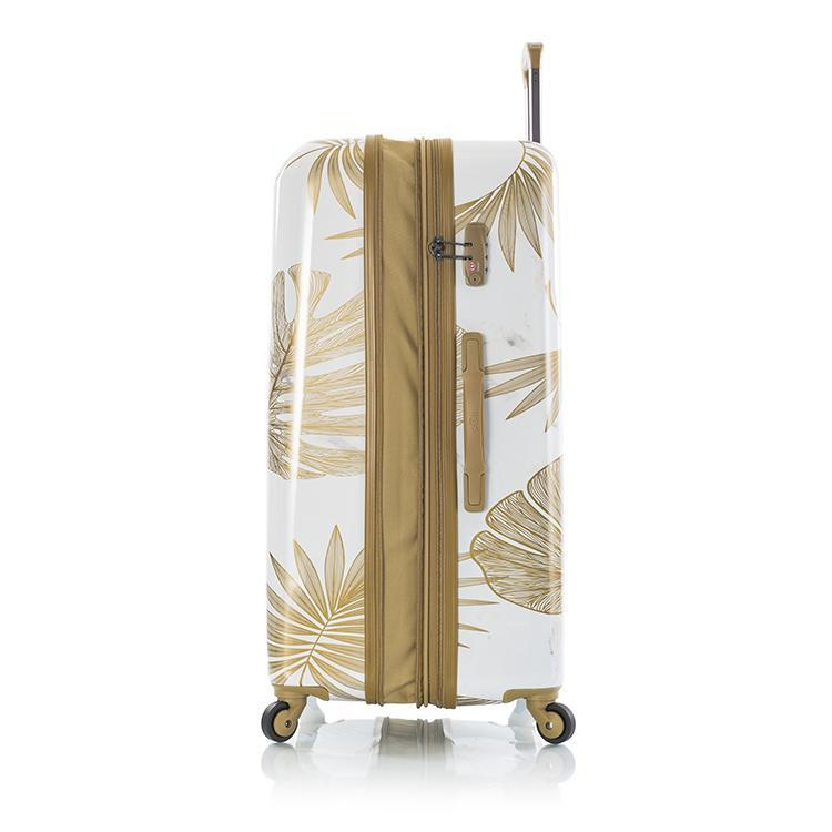 Oasis White/Gold Leaf Fashion Spinner 3pc. Set
