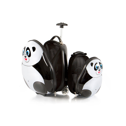 Travel Tots Panda - Kids Luggage & Backpack Set