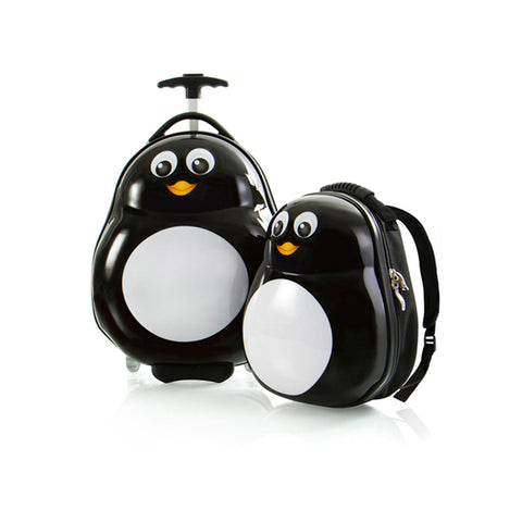 Travel Tots Penguin - Kids Luggage & Backpack Set