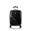 "Portoro - Black Marble 21"" Fashion Spinner Carry-on"