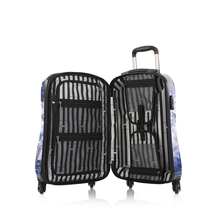 "Purple Amethyst 21"" Fashion Spinner Carry-on"